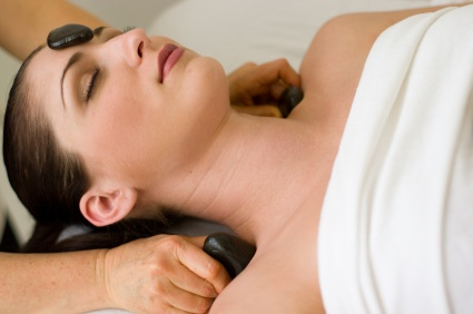 Haven Therapies Seaford Sussex - Hot Stone Fusion Massage - Neck