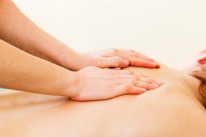 Haven Therapies Seaford Sussex - Deep Tissue Massage - Shoulder and Back